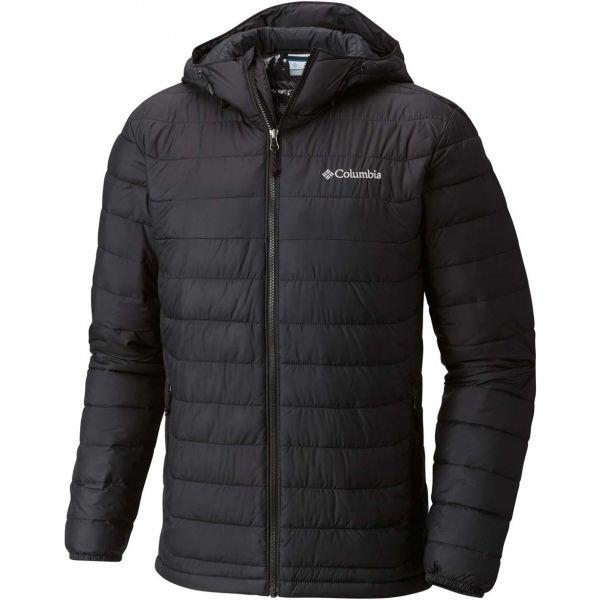 Černá zimní pánská bunda Columbia