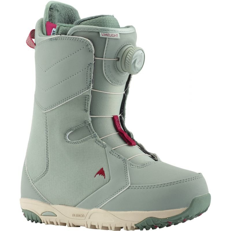 Zelené dámské boty na snowboard Burton - velikost 40,5 EU