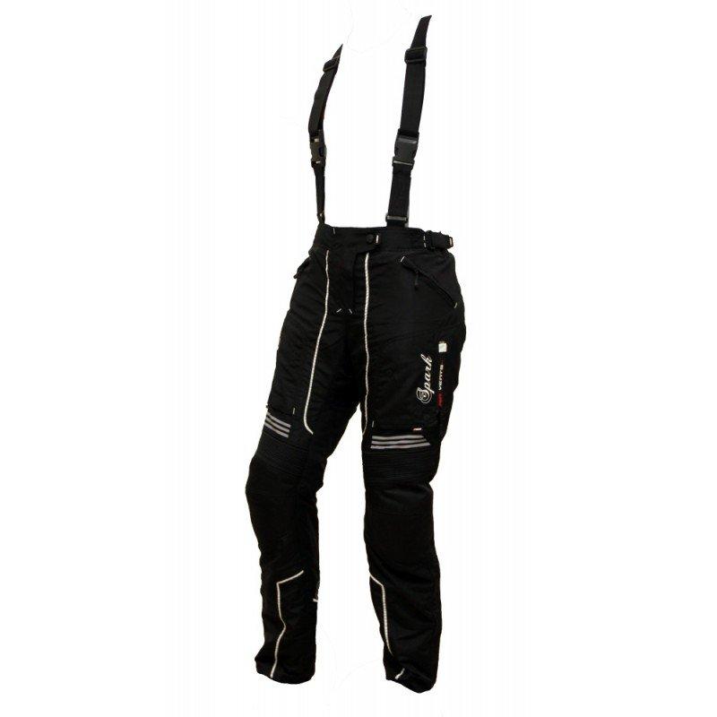 Černé dámské motorkářské kalhoty Nora 3f57fec49f