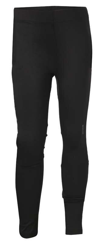 Černé dětské chlapecké nebo dívčí běžecké kalhoty Tights OT, Oxide
