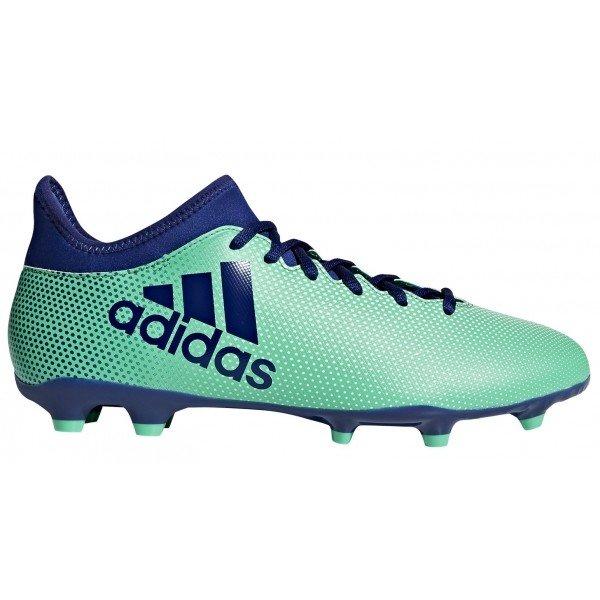 Modro-zelené pánské kopačky Adidas - velikost 45 1/3 EU