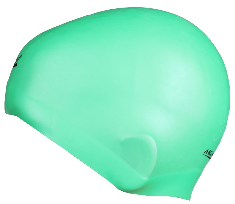 5f65a689b88 Zelená dámská nebo pánská plavecká čepice RACER