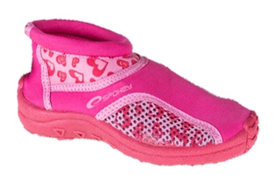 Růžové dětské boty do vody ROZA, Spokey - velikost 31 EU