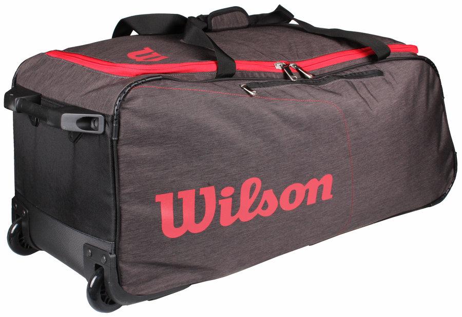 Tenisová taška - Wilson Traveler Wheeled Coach Duffle
