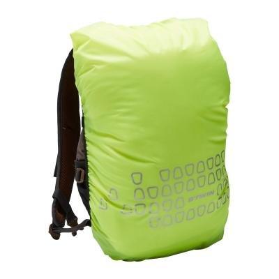 Žlutá pláštěnka na batoh B'TWIN - objem 15-35 l