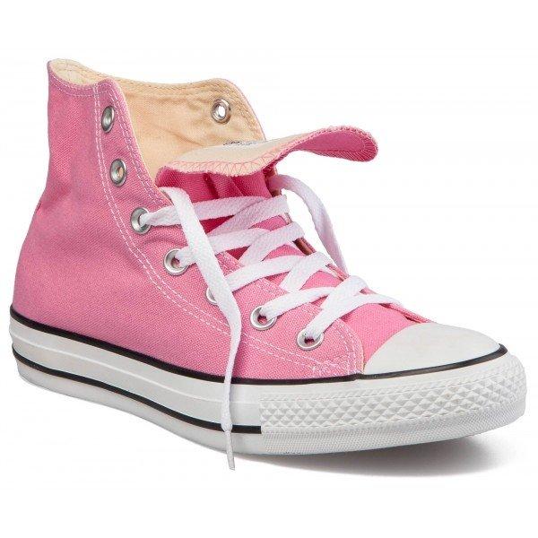 Růžové dámské tenisky Converse