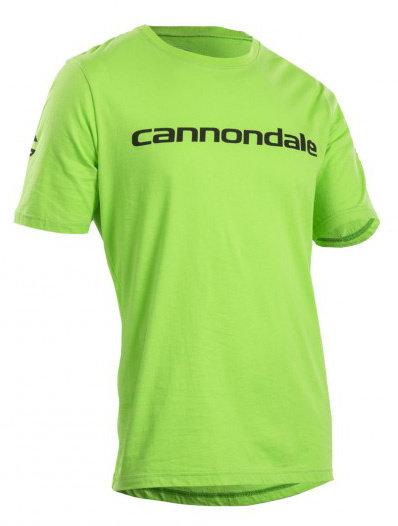 Cyklistické tričko - Cannondale Casual triko pánské zelená, XL