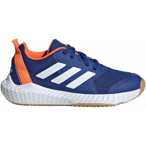 Modrá dětská sálová obuv Adidas - velikost 33 EU