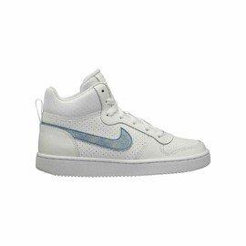 Bílé dětské chlapecké nebo dívčí tenisky COURT BOROUGH MID, Nike - velikost 37,5 EU