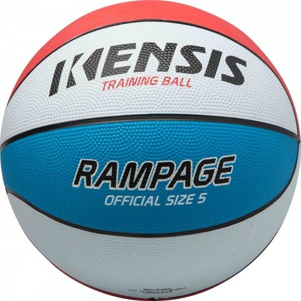 Bílý basketbalový míč Kensis