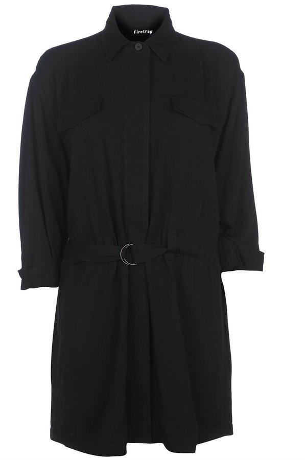 Černá dámská bunda Firetrap - velikost S