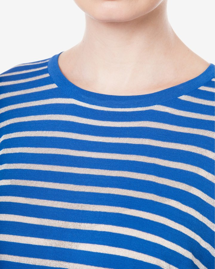 Modrý dámský svetr Silvian Heach - velikost XXS