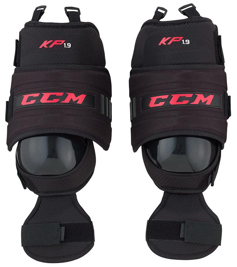Brankářské hokejové nákolenice - Brankářské chrániče kolen CCM KP 1.9 Knee Protector Senior Velikost: Senior