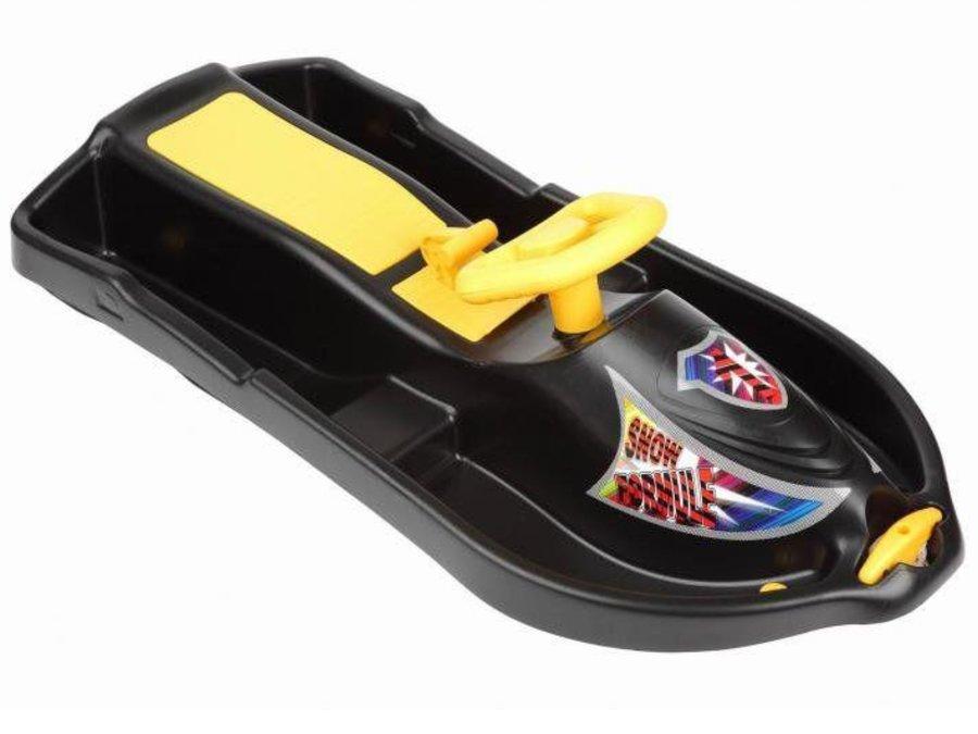 Černé dětské boby s volantem Sedco