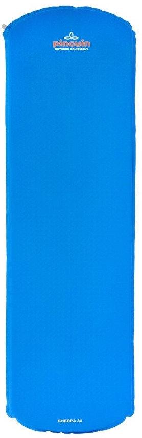 Modrá samonafukovací karimatka Pinguin - tloušťka 3 cm