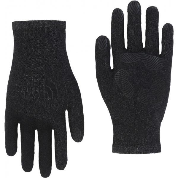 Černé pánské lyžařské rukavice The North Face