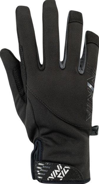 Černé dámské rukavice na běžky Silvini - velikost XS