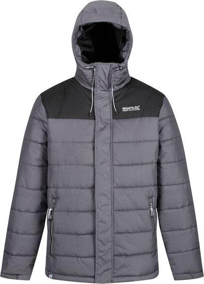 Šedá zimní pánská bunda s kapucí Regatta