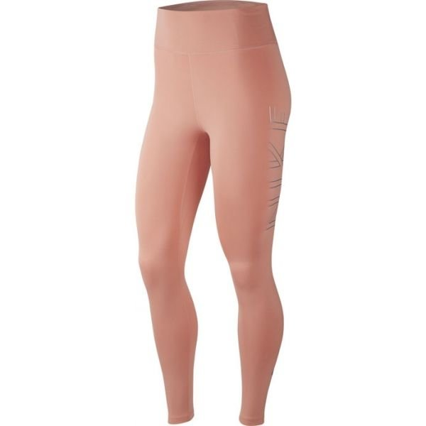 Oranžové dámské běžecké legíny Nike