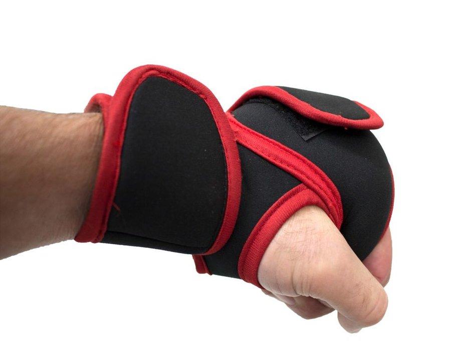 Černé závaží na ruce - 0,5 kg