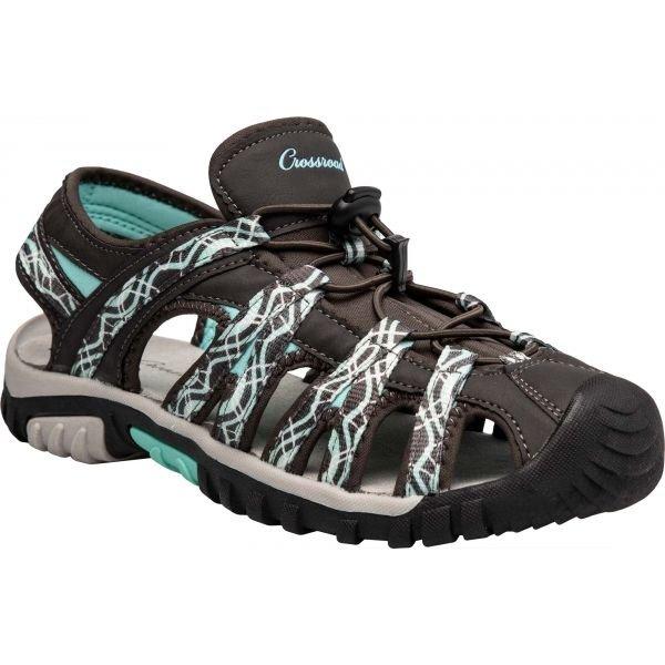 Šedé dámské sandály Crossroad