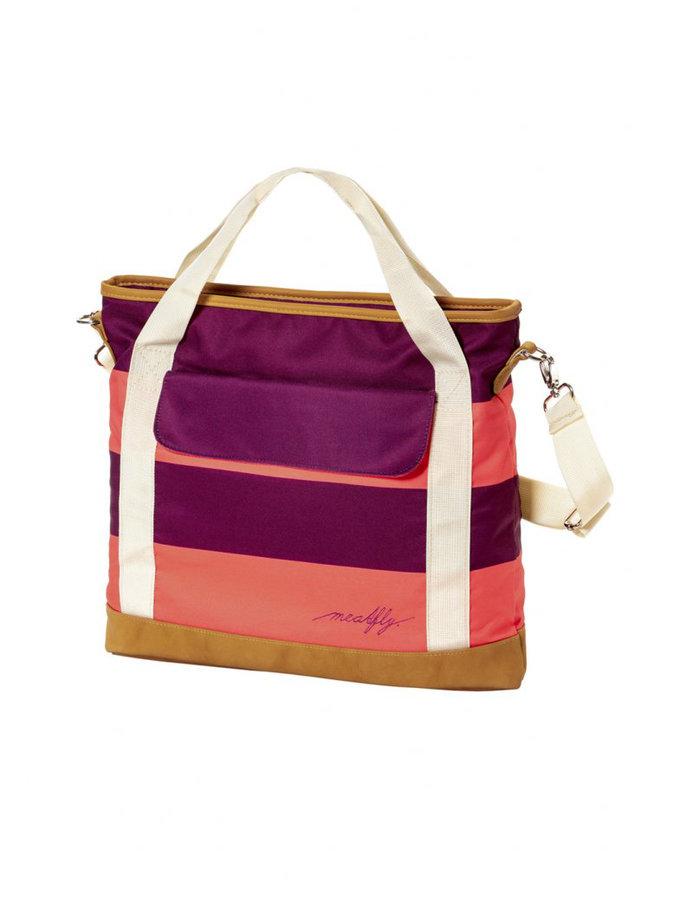 Kabelka - Meatfly Kuna Ladies Bag D - Coral Stripe Velikost: JEDNOTNÁ VELIKOST