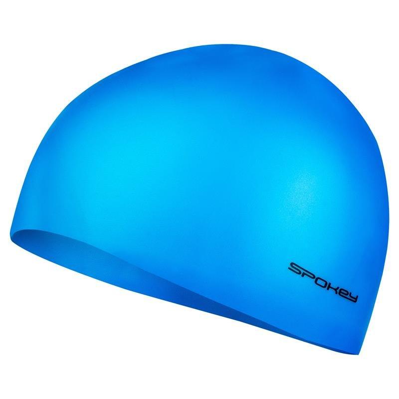 Modrá pánská nebo dámská plavecká čepice Spokey