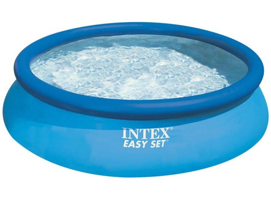 Dětský nadzemní nafukovací kruhový bazén INTEX - průměr 366 cm a výška 76 cm