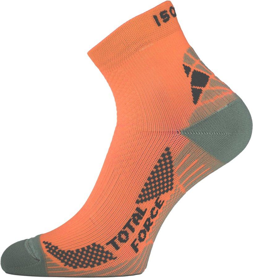 Oranžové pánské běžecké ponožky RTF 200, Lasting