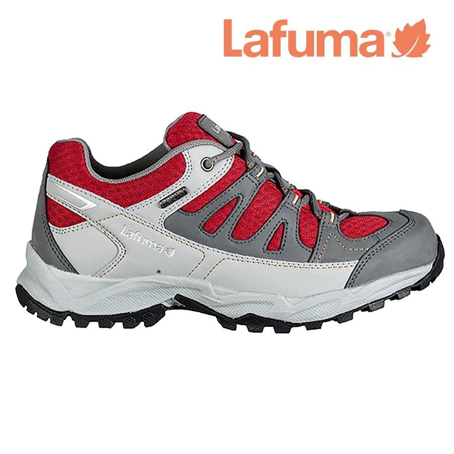 Červeno-šedé dámské trekové boty LAFTRACK, Lafuma - velikost 37 EU