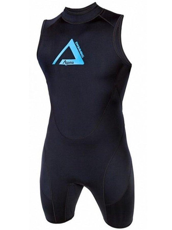 Černé pánské plavky Swimming, Agama