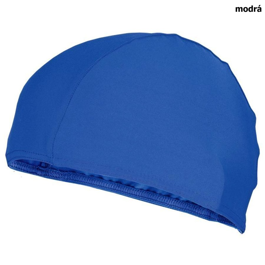 Modrá dámská nebo pánská plavecká čepice LYCRAS, Spokey