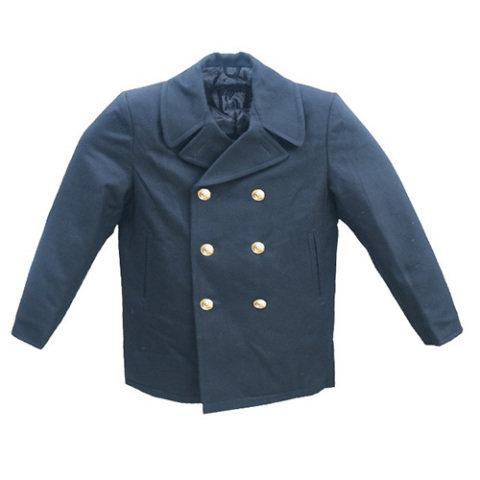 Kabát - Kabát BW MARINE vlněný NAVY