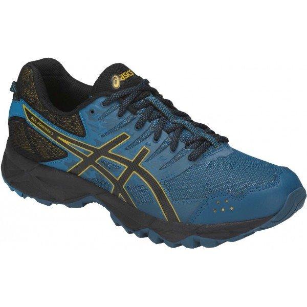 Modré pánské běžecké boty Asics
