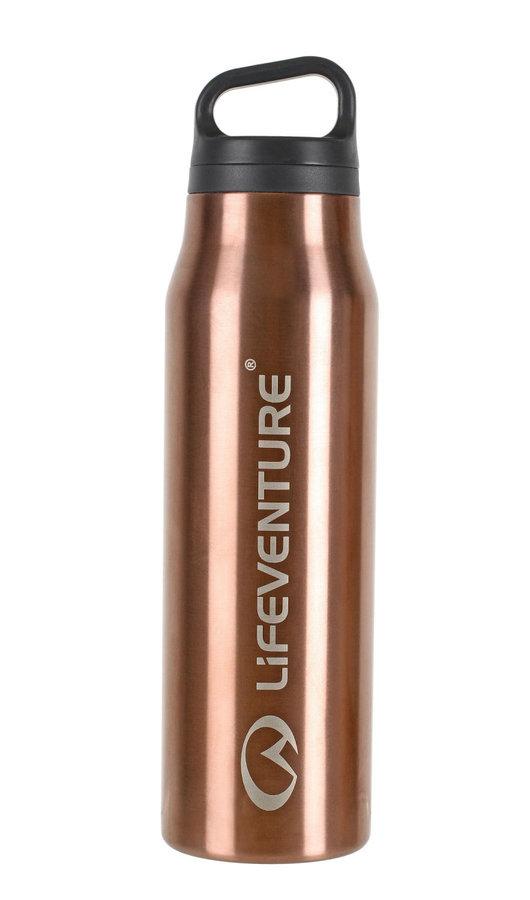 Zlatá termoska na pití Lifeventure - objem 0,5 l