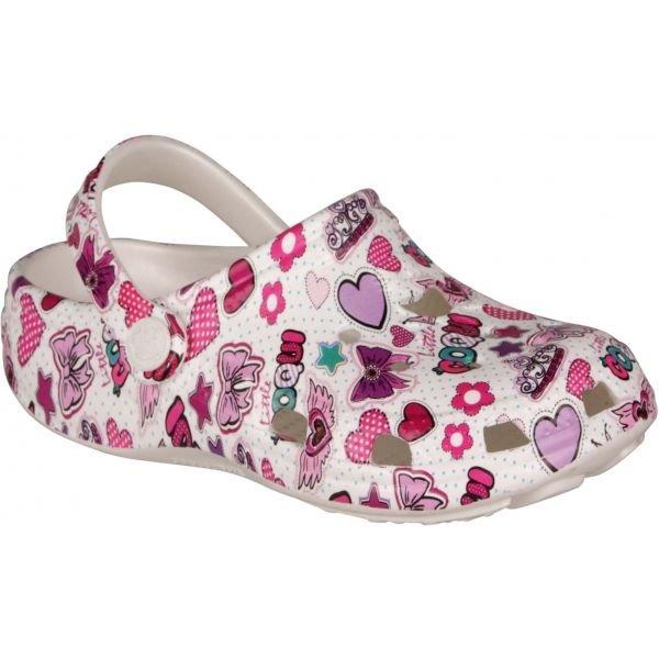 Růžové dívčí sandály Coqui - velikost 28-29 EU