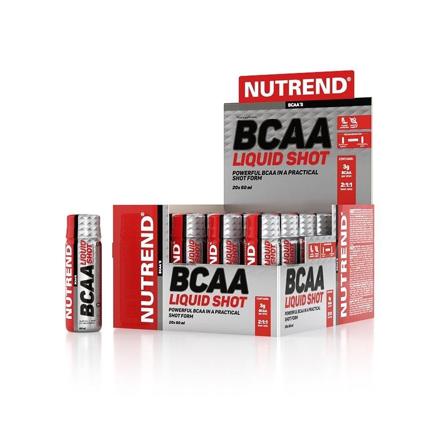 BCAA - Aminokyseliny Nutrend BCAA Liquid Shot 20x60 ml