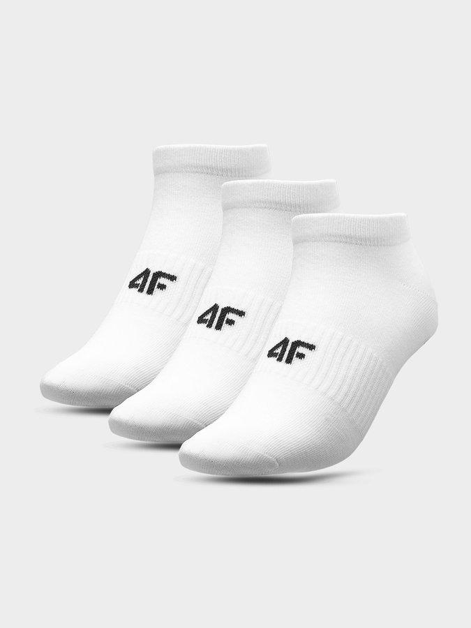 Bílé dámské ponožky 4F
