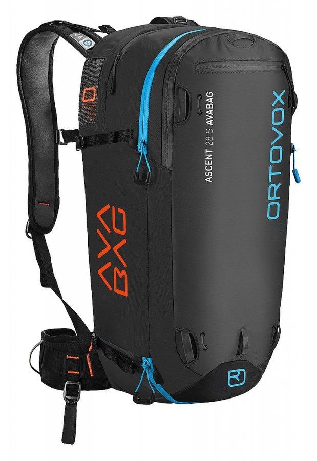 Černý lavinový skialpový batoh Ortovox - objem 28 l