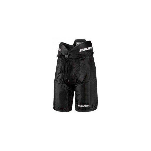 Černé hokejové kalhoty - junior Bauer - velikost XL
