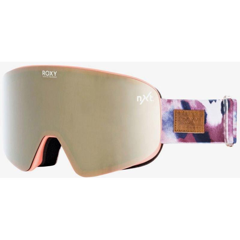 Oranžové brýle na snowboard Roxy