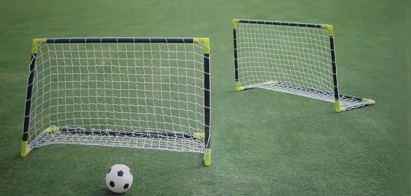 Fotbalový míč - SPARTAN SPORT Brankový set SPARTAN mini
