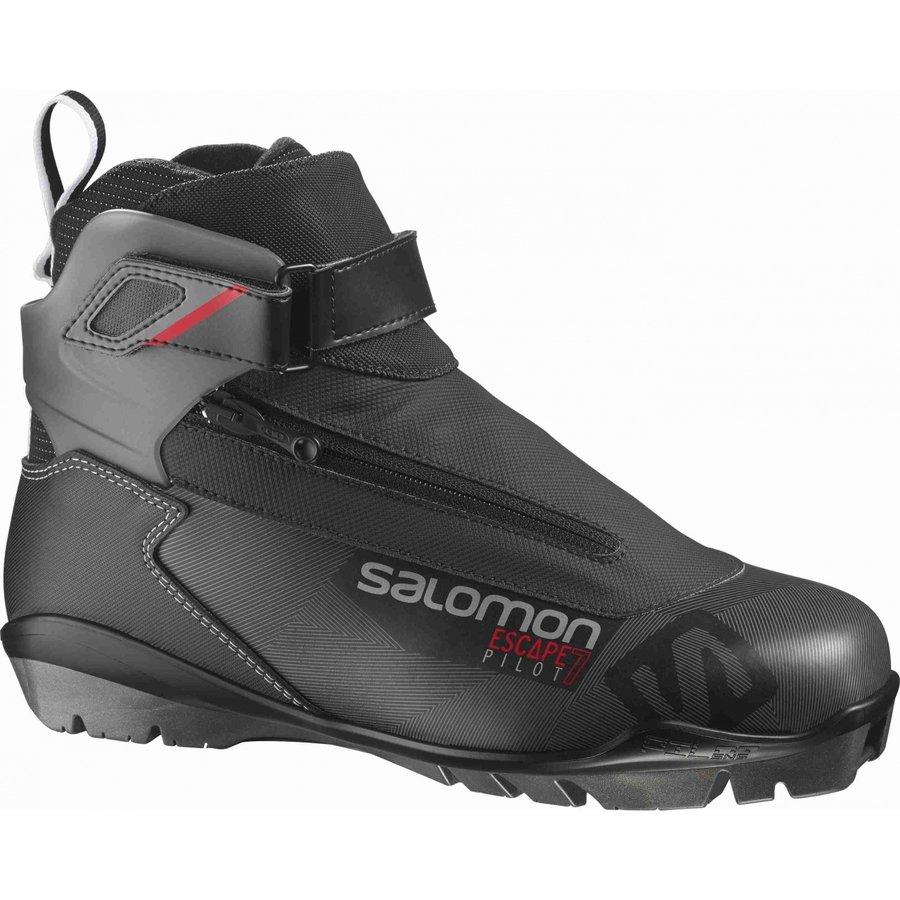 Černé boty na běžky Salomon - velikost 43 1/3 EU