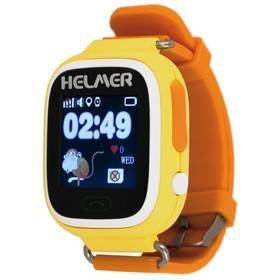 Žluté dětské chytré hodinky LK 703, Helmer