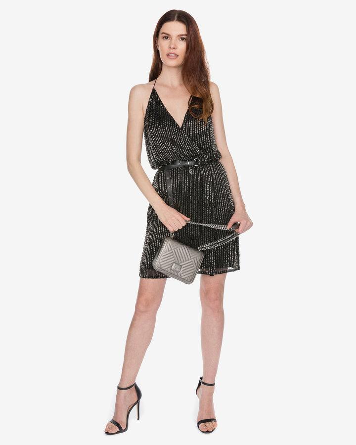 Černé dámské šaty French Connection - velikost XS