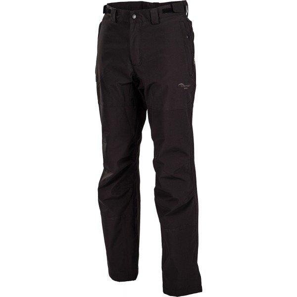 Černé softshellové pánské kalhoty Hi-Tec
