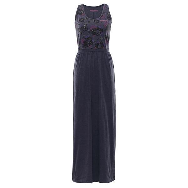 Modré dámské šaty Alpine Pro