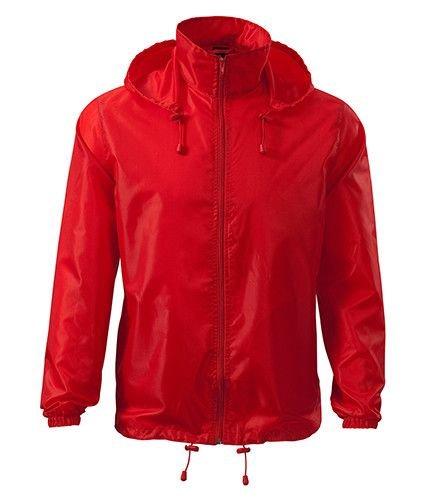 Červená cyklistická bunda Adler