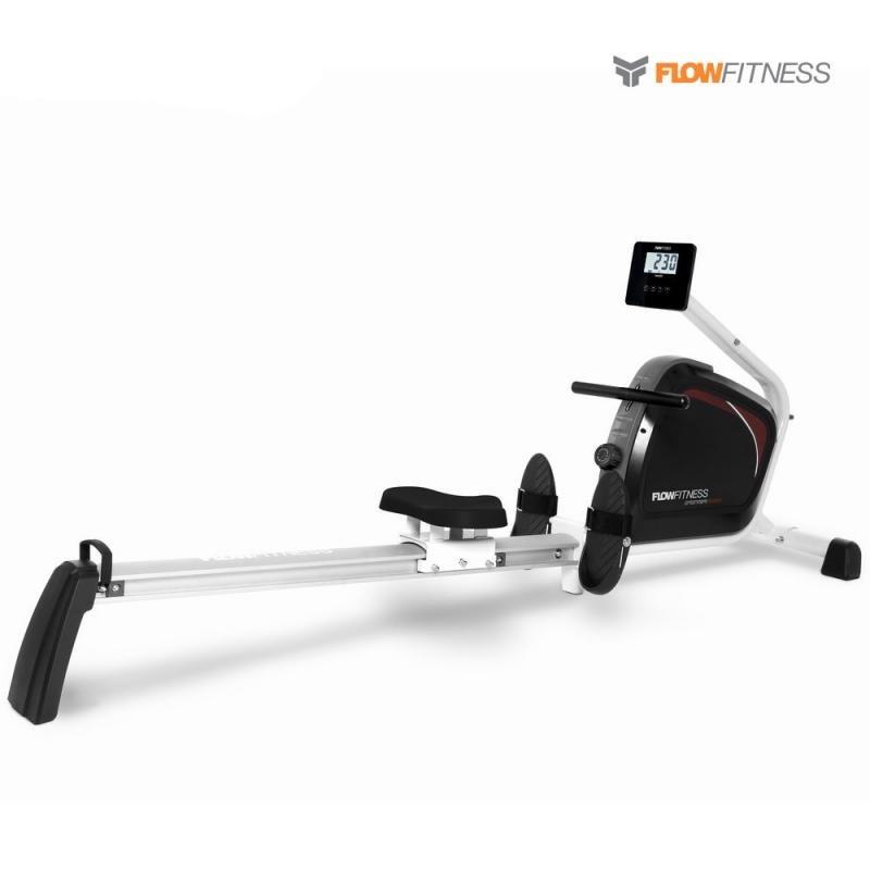 Veslovací trenažér DMR250 Rower, Flow Fitness - nosnost 135 kg
