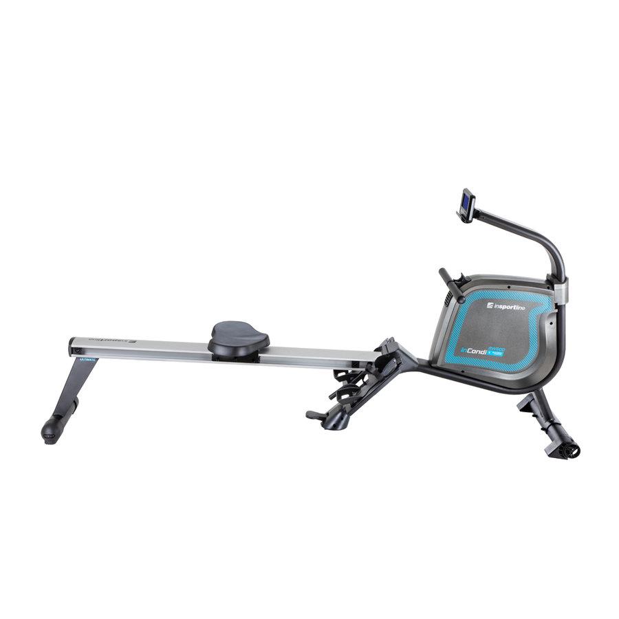 Veslovací trenažér RW600, inSPORTline - nosnost 150 kg